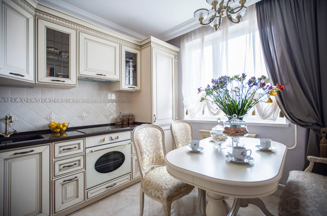 Квартира в классическом стиле klassicheskiy-kuhnya