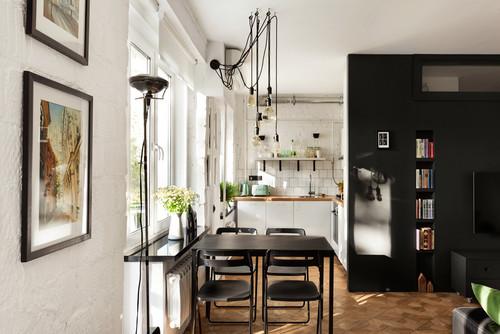 loft kuhnya - 4 квартиры, в которых вы не узнаете хрущевку