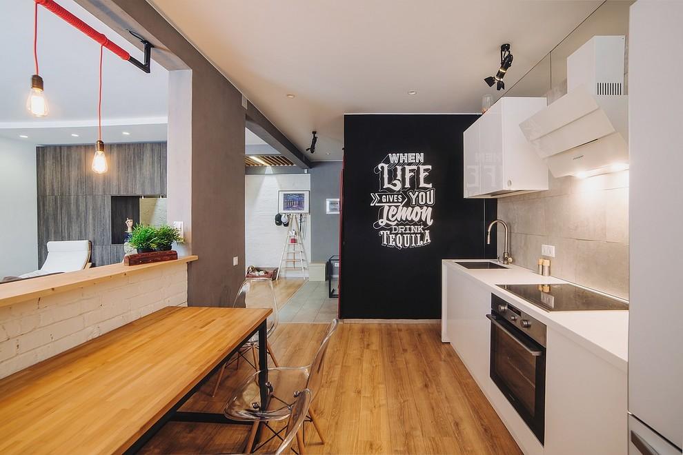 Urban kitchen photo in Other