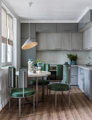 Вопрос Стоит ли делать кухню до потолка (19 photos)