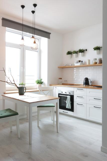 Однушка для двоих contemporary-kitchen