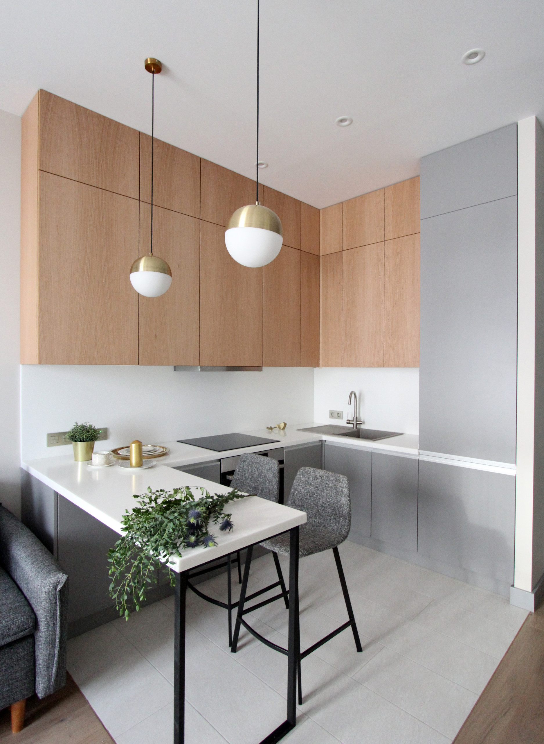 75 Beautiful Kitchen With A Peninsula Pictures Ideas February 2021 Houzz