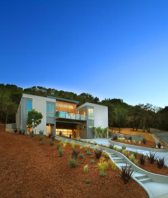 2012 Sunset Idea House Breezehouse - Landscape contemporary-landscape