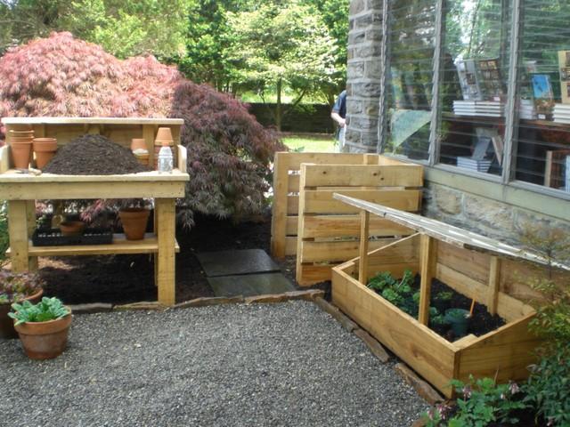 2013 ALE: The Potager Garden at Stonebridge Mansion eclectic-landscape