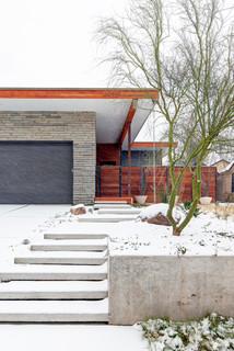 5th Street Residence - Modern - Landscape - Dallas