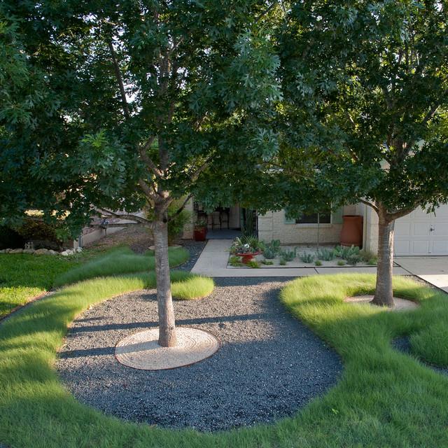 78745 landscape contemporary landscape austin by for Home turf texas landscape design llc