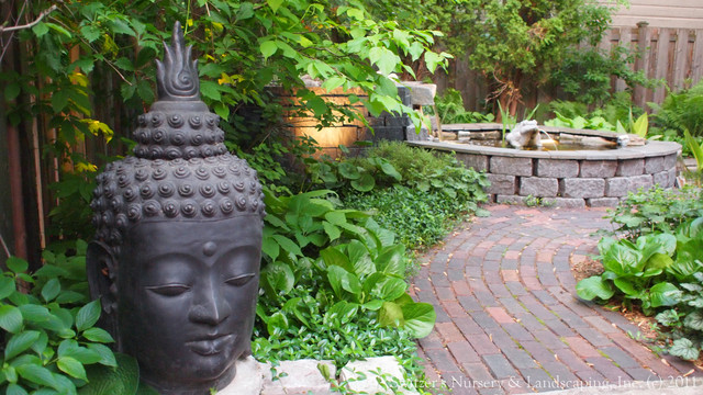A balinese inspired landscape asian landscape for Balinese garden designs ideas