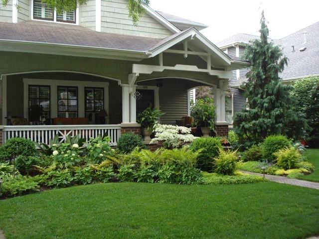 A Cottage Garden traditional-landscape