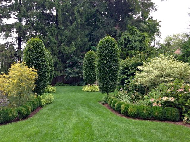 A formal english garden traditional landscape new for Formal english garden designs
