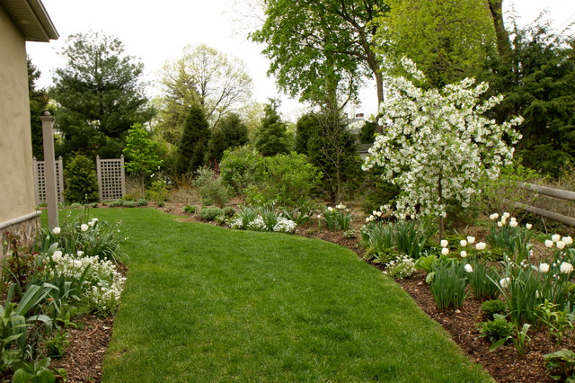 A Formal English Garden Traditional Landscape new