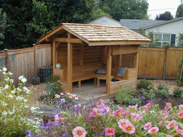 A Garden Retreat eclectic-landscape