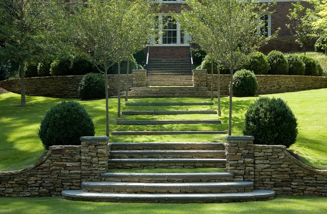 A georgian revival in birmingham ala traditional for Georgian landscape design
