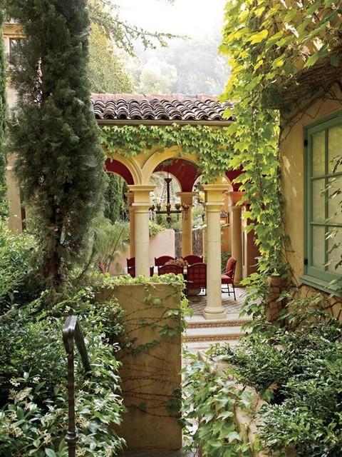 A Hillside Villa mediterranean-landscape