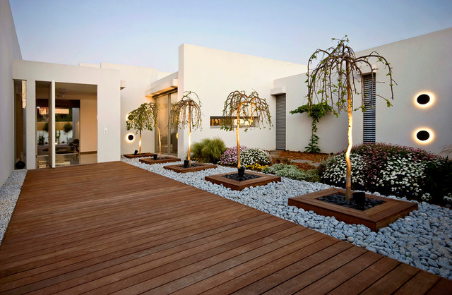Contemporary Landscaping Ideas For Front Of House PDF