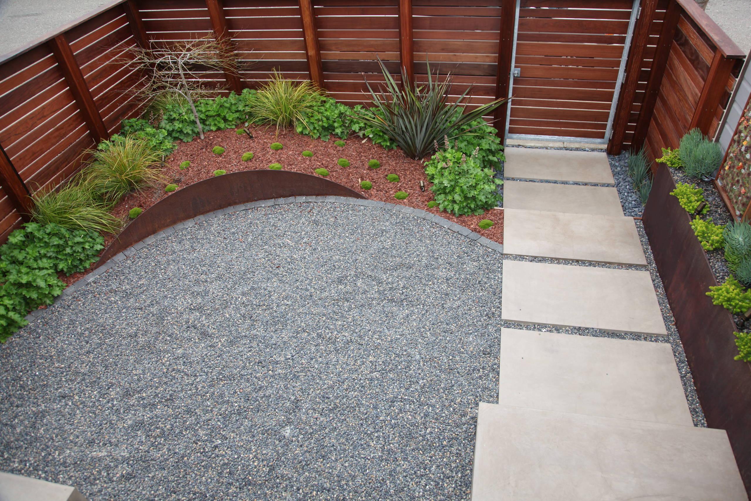 A Modern San Francisco Front Entry Garden