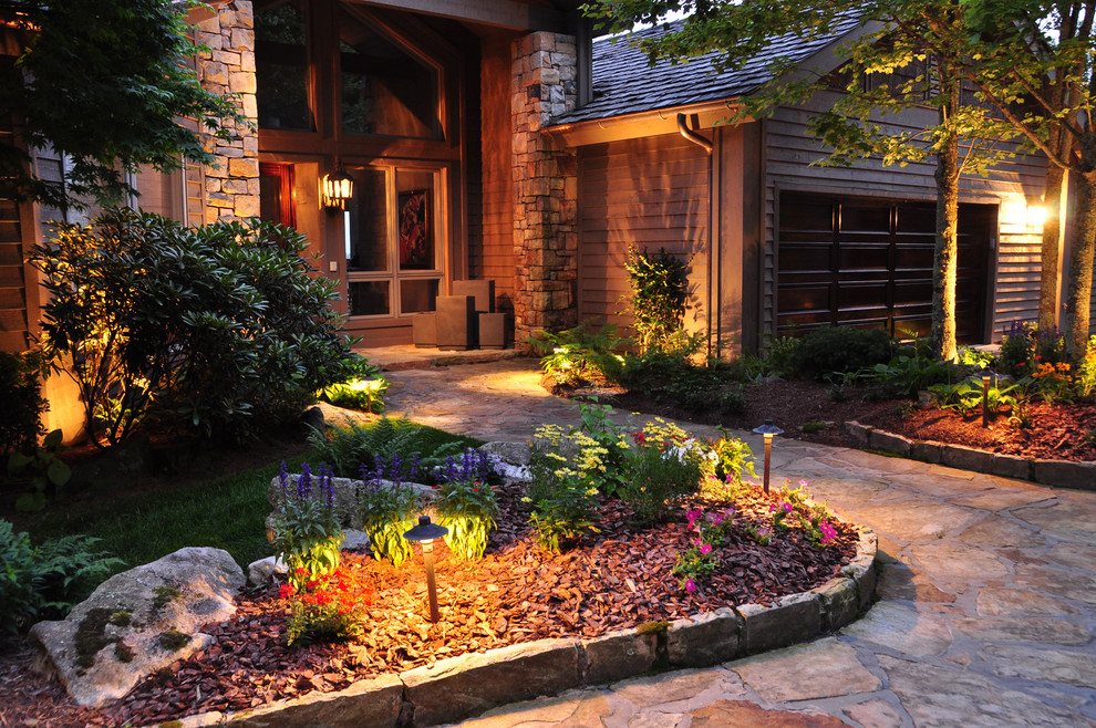 Design ideas for a traditional landscaping in Charlotte.