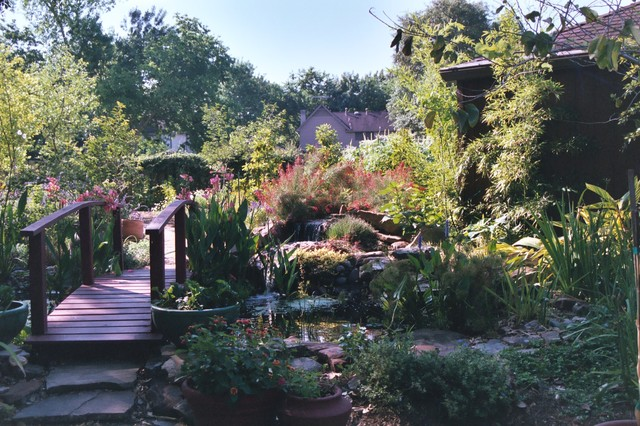 A natural landscape in Jersey Village traditional-landscape