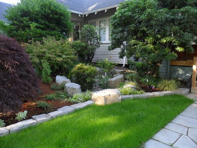 A Rain Garden Shared By Neighbors Modern Landscape Portland