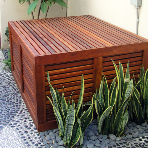 9 Clever Ways To Hide An Ac Unit, Outdoor Air Conditioner Covers