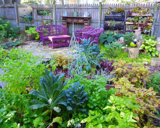 Ornamental vegetable garden home design ideas pictures for Ornamental vegetable garden design
