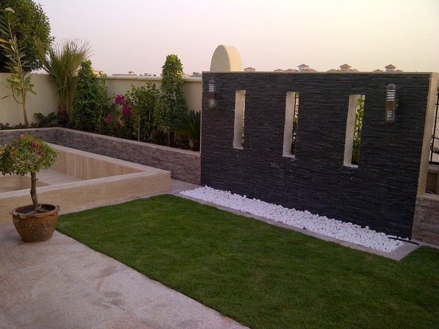 A villa in the villa community project dubai for Landscape villa design