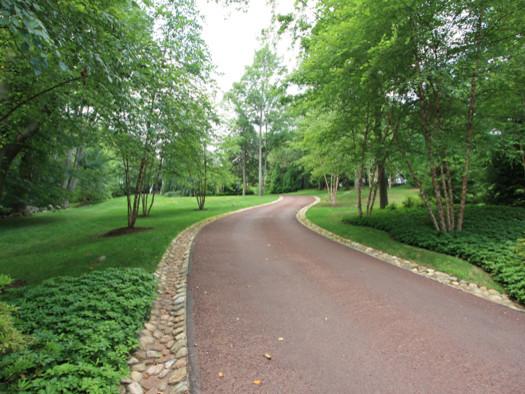 A Winding Driveway