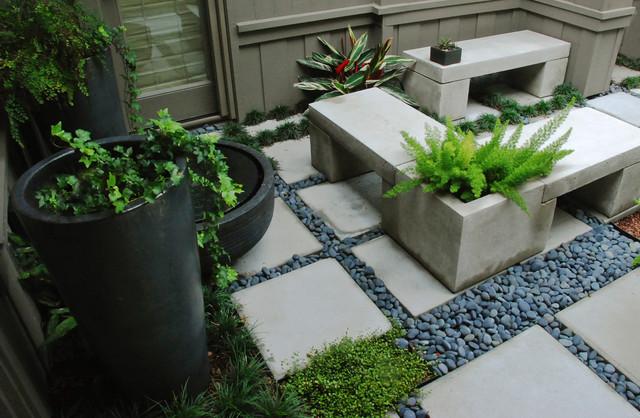 A Zen Garden In 225 Sq Ft Asian Landscape Orlando