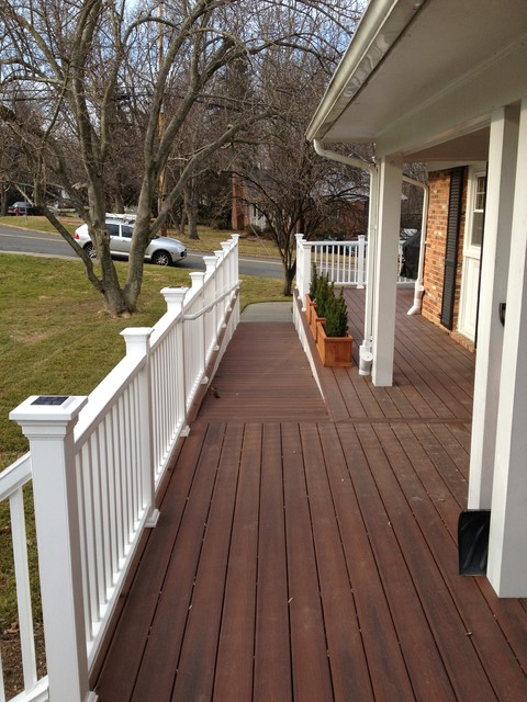 Accessible Exterior Ramps Traditional Landscape Dc