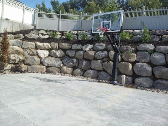 Alan J S Pro Dunk Platinum Basketball System On A 36x28 In