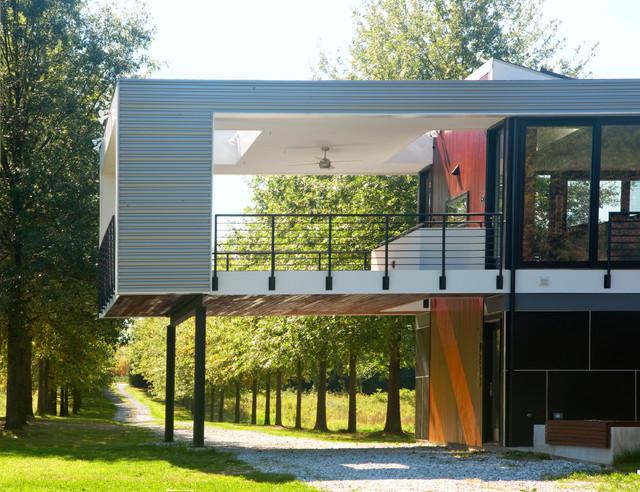 Allee House Modern Landscape