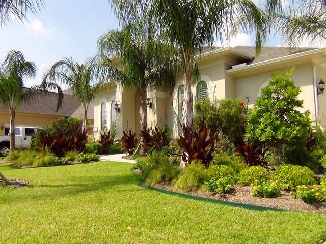 Allred Residence Tropical Landscape Houston By