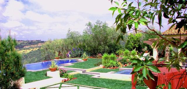 AMS Landscape Design Studios, Inc. mediterranean-landscape