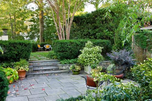 Traditional Landscape by Arlington Landscape Architects & Landscape Designers Scott Brinitzer Design Associates