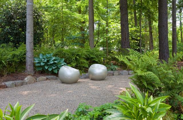 An Outdoor Art Collection modern-landscape