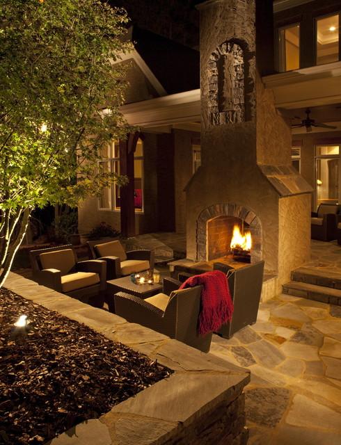 An Outdoor Room modern-landscape