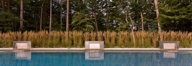 Andover Pool contemporary-landscape