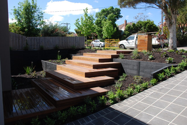 Andrew Renn Design. Beautiful gardens of Melbourne Australia traditional-landscape