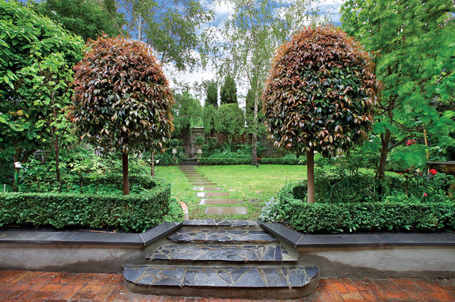 Andrew renn design beautiful gardens of melbourne australia traditional landscape melbourne Australia home and garden tv show