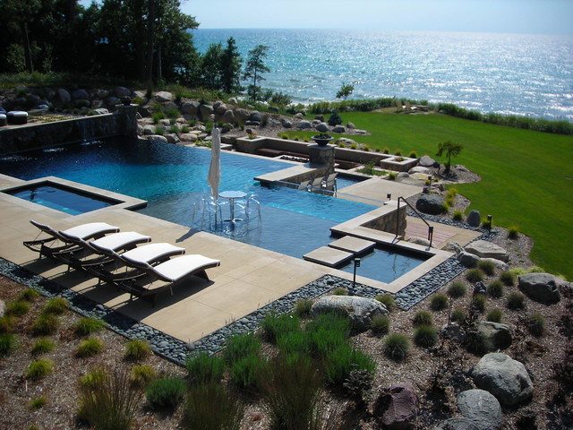 Apex Landscape Lake Michigan Project modern-landscape