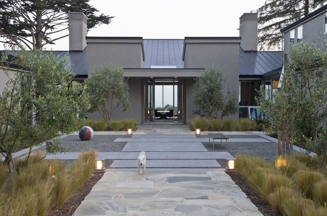 Aptos contemporary landscape