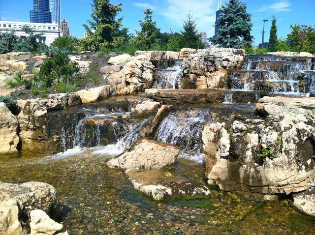 Aquascape Ecosystem Waterfall Pond Installation, Shedd Aquarium, Acorn  Traditional Garden