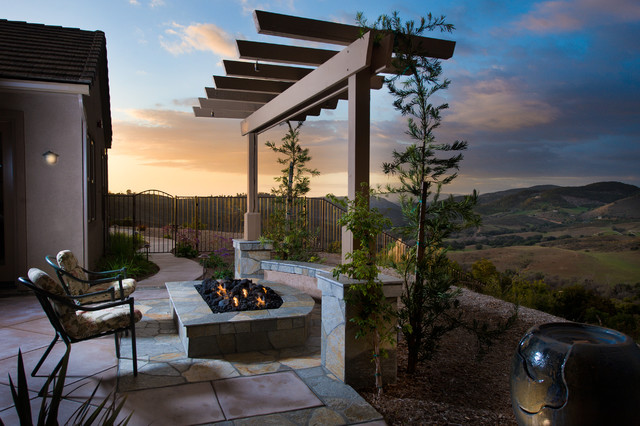 Arbor Projects by AAA Landscape Specialists, Inc.  760-295-1980 modern-landscape