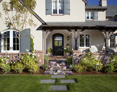 Arcadia English Remodel traditional-landscape