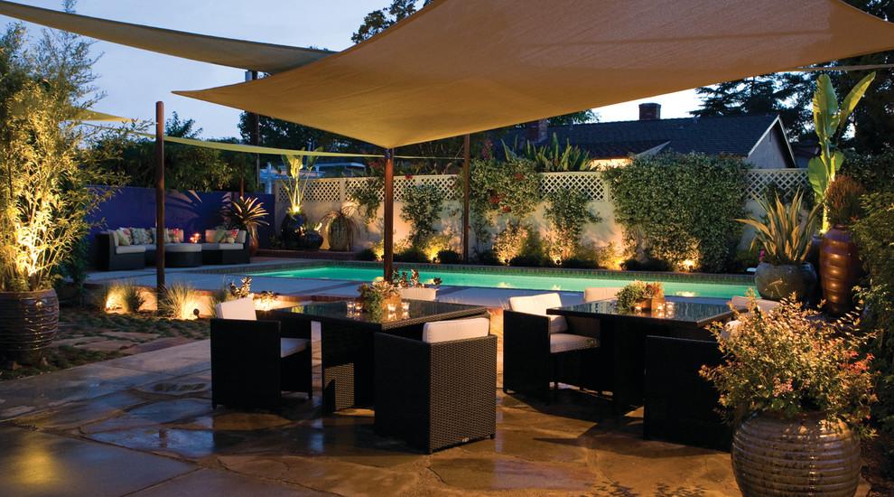 Arcadia modern - Contemporary - Landscape - Los Angeles ... on Arcadia Backyard Designs id=90708