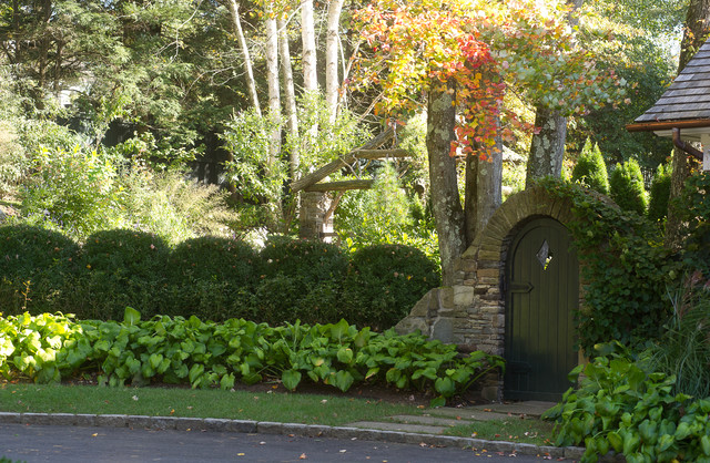 Arched Doorway traditional-landscape