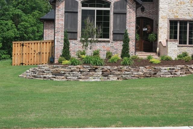 Arkansas Native Fieldstone Rustic Landscape Little