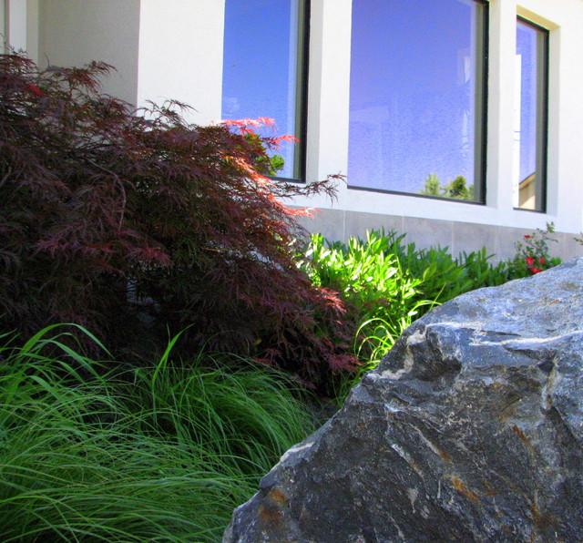 Arrowhead canyon residence modern landscape boise for Landscape design boise