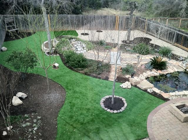 River Rock Design Ideas river rock garden edging Garden Design With Artificial Turfriver Rock Installation Transitional Landscape With Garden Design Ideas From