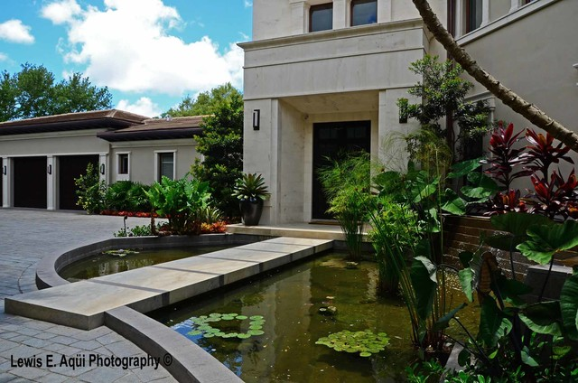 Asian Contemporary Contemporary Landscape miami by