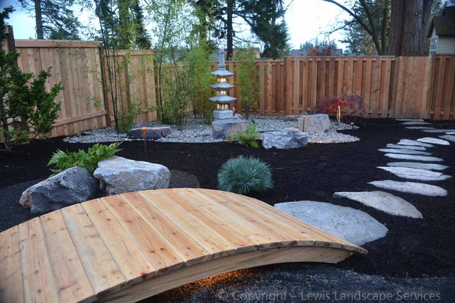 Outdoor Living Spaces Tranquil in addition Landscapes additionally Zen Gardens also Gray Wooden Decks additionally Simple Garden Ideas On A Budget. on oregon landscaping ideas